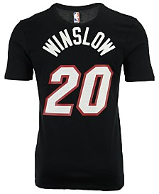 Nike Men's Justise Winslow Miami Heat Name & Number Player T-Shirt
