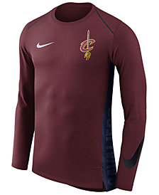 Nike Men's Cleveland Cavaliers Hyperlite Shooter Long Sleeve T-Shirt