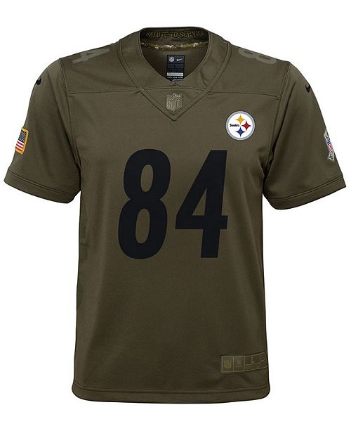 the best attitude 643ad 6e943 Nike Antonio Brown Pittsburgh Steelers Salute To Service ...