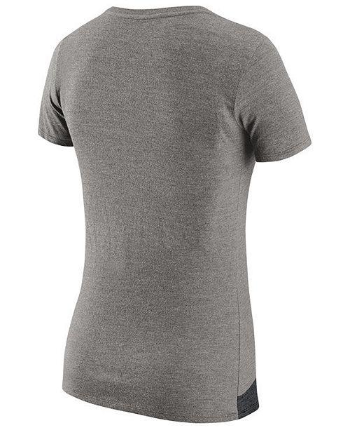 ca38e045d79 Nike Women s Oakland Raiders Dri-FIT V T-Shirt - Sports Fan Shop By ...