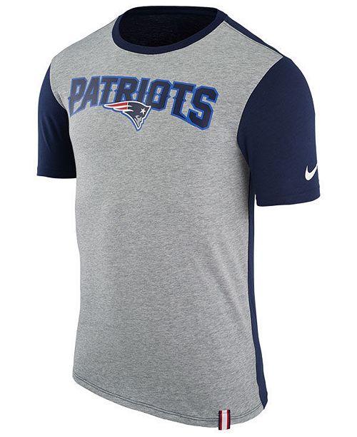c8e26527 Nike Men's New England Patriots Color Dip T-Shirt & Reviews - Sports ...