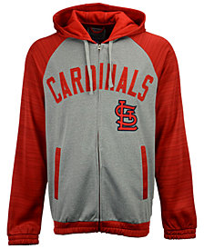 G-III Sports Men's St. Louis Cardinals Legend Hooded Track Jacket