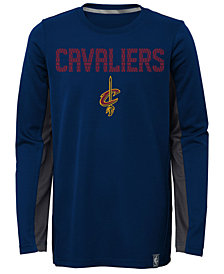 Outerstuff Cleveland Cavaliers Assist Shooter Long Sleeve T-Shirt, Little Boys (4-7)