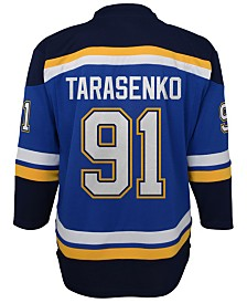 Authentic NHL Apparel Vladimir Tarasenko St. Louis Blues Player Replica Jersey, Big Boys (8-20)