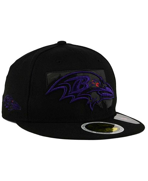 size 40 7a61d 934c1 ... reduced new era. baltimore ravens state flective metallic 59fifty  fitted cap. be the first