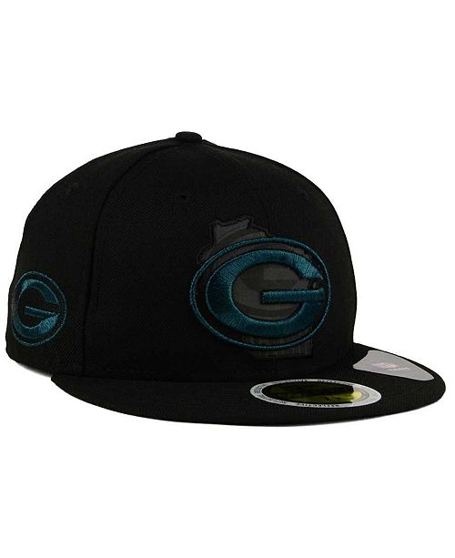Top New Era Green Bay Packers State Flective Metallic 59FIFTY Fitted