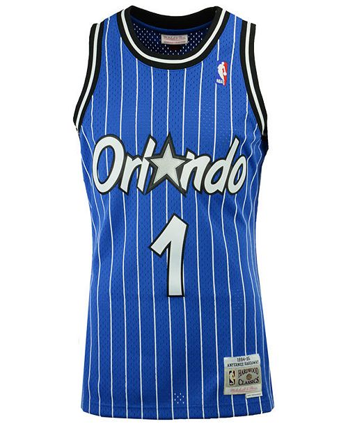 pick up 31ffd ecf2c Men's Penny Hardaway Orlando Magic Hardwood Classic Swingman Jersey