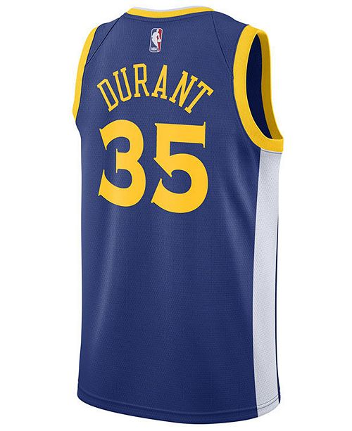 Nike Men's Kevin Durant Golden State Warriors Icon Swingman Jersey