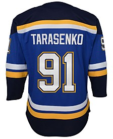 Authentic NHL Apparel Vladimir Tarasenko St. Louis Blues Premier Player Jersey, Big Boys (8-20)
