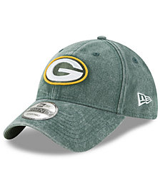 New Era Green Bay Packers Italian Washed 9TWENTY Cap