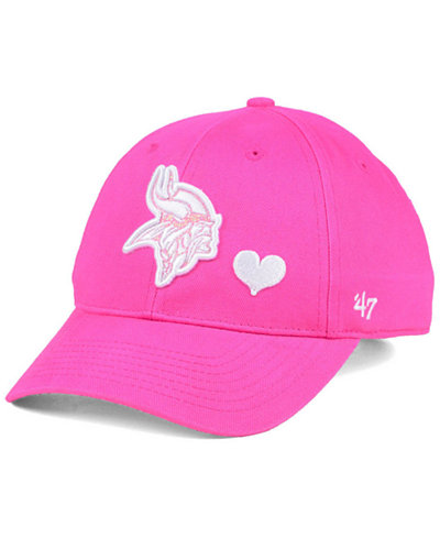 '47 Brand Girls' Minnesota Vikings Sugar Sweet MVP Cap