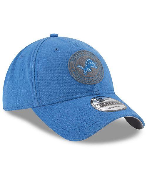 New Era Detroit Lions The Varsity 9TWENTY Cap - Sports Fan Shop By ... aefd69236