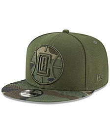New Era Los Angeles Clippers Operation Camo 9FIFTY Snapback Cap
