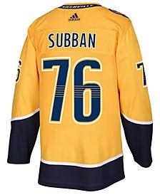 Men's P.K. Subban Nashville Predators Authentic Player Jersey