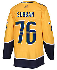 adidas Men's P.K. Subban Nashville Predators Authentic Player Jersey