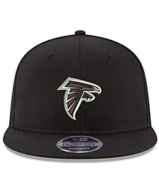 Atlanta Falcons Team Color Basic 9FIFTY Snapback Cap