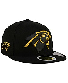 Carolina Panthers State Flective Metallic 59FIFTY Fitted Cap