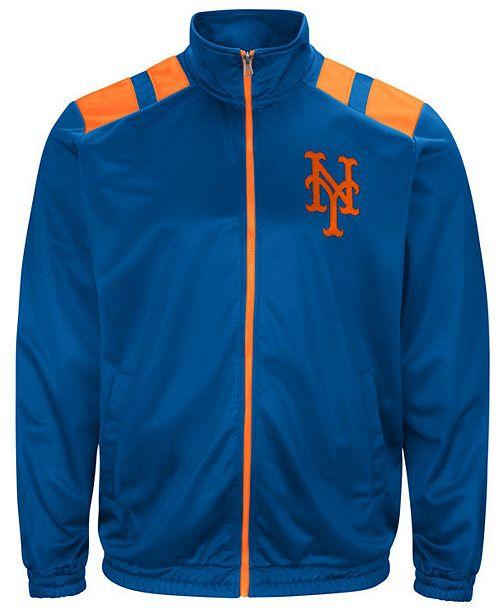 G-III Sports G-III Men's Sports New York Mets Broad Jump Track Jacket