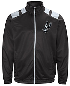 G-III Men's Sports San Antonio Spurs Broad Jump Track Jacket
