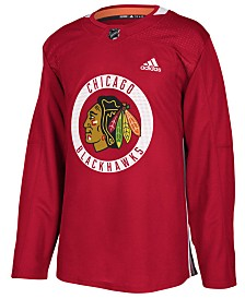 adidas Men's Chicago Blackhawks Authentic Pro Practice Jersey