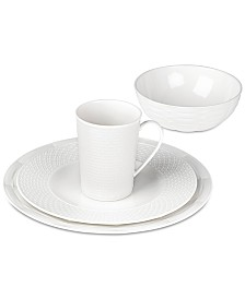 Lenox Entertain 365 Sculpture Mixed Round 4-Pc. Place Setting