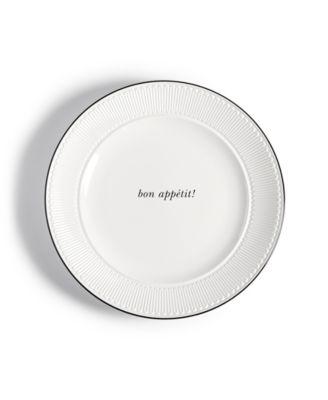 York Avenue Bon Appetit Accent Plate