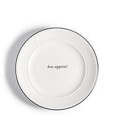 kate spade new york York Avenue Bon Appetit Accent Plate