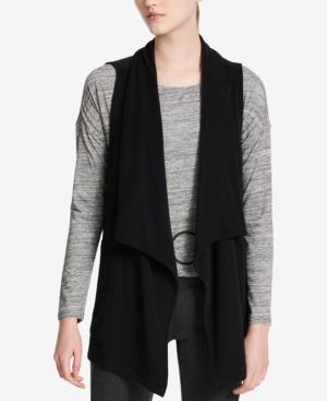 Calvin Klein Vests PERFORMANCE DRAPED VEST