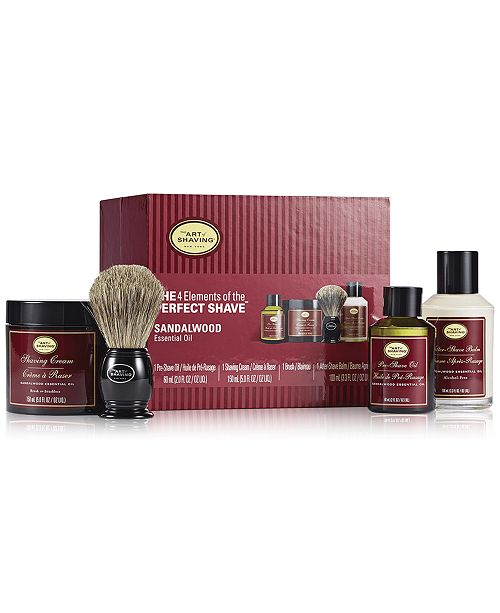 Art of Shaving The Men's 4-Pc. Sandalwood Full Size Kit