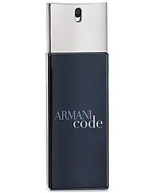 Armani Code Eau de Toilette Travel Spray, 0.67 oz.