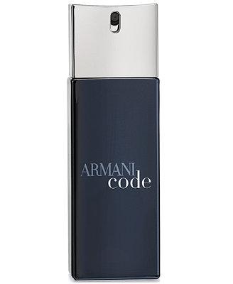 Armani Code Eau De Toilette Travel Spray, 0.67 Oz. by Giorgio Armani