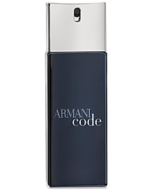 Giorgio Armani Armani Code Eau de Toilette Travel Spray, 0.67 oz.
