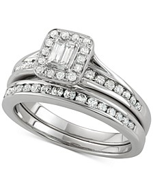 Diamond Bridal Set (3/4 ct. t.w.) in 14k White Gold