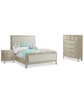Parker Bedroom Furniture, 3 Pc. Set (California King Bed, Chest U0026  Nightstand), Created For Macyu0027s