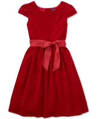 Product Details. Perfect for holiday parties, this fit-and-flare Polo Ralph  Lauren dress ...