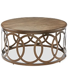 Hillary Round Coffee Table, Quick Ship