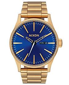 Nixon Men's Sentry Stainless Steel Bracelet Watch 42mm A356