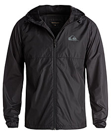Quiksilver Men's Everyday Waterproof Full-Zip Windbreaker