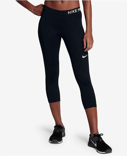 f6b05916e1 Nike Pro Dri-FIT Capri Training Leggings & Reviews - Pants ...