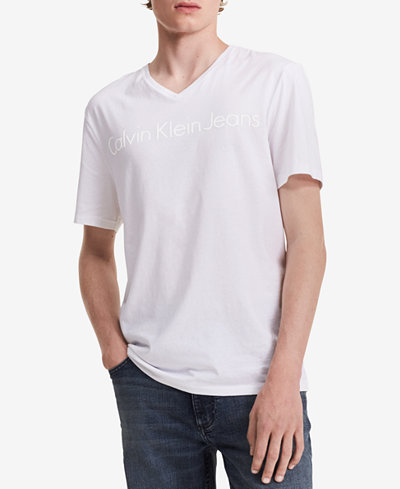 Calvin Klein Jeans Men's Big and Tall Graphic-Print T-Shirt