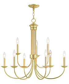 Livex Estate 9-Light Chandelier