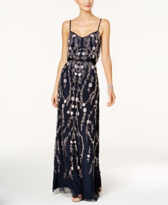 Floral Beaded Gowns