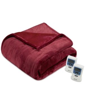 Beautyrest Heated Plush Full Blanket Bedding
