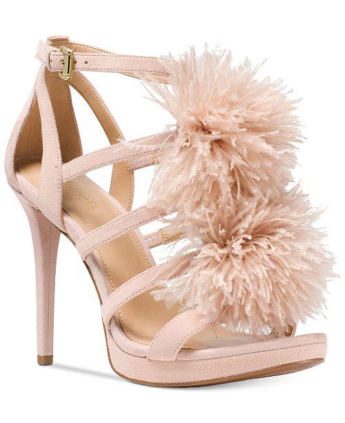 5e0ce670321 Michael Kors Fara Sandals   Reviews - Sandals   Flip Flops - Shoes ...