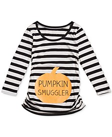 Pumpkin Smuggler™ Maternity Graphic T-Shirt