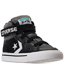 Converse Toddler Boys' Pro Blaze Strap Casual Sneakers from Finish Line