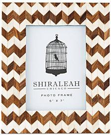 Shiraleah Boheme Chevron 5'' x 7'' Picture Frame