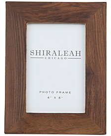Shiraleah America 4'' x 6'' Wood Picture Frame