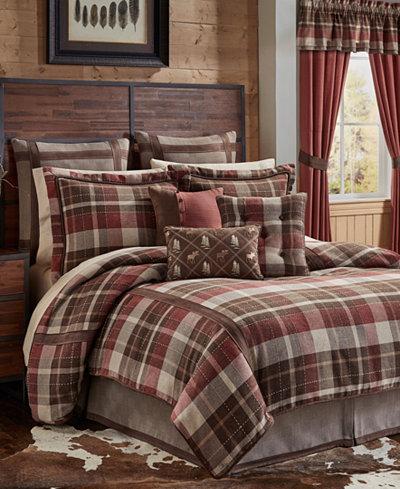 Croscill Kent 4-Pc. Queen Comforter Set