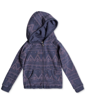 Roxy Make Me Swim FullZip Hoodie Toddler Girls (2T5T)